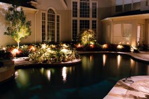 landscape lighting, landscaping, landscape