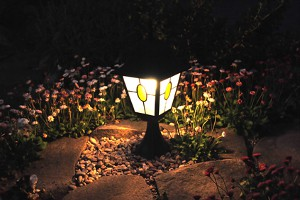 landscape lighting, landscaping, landscaper