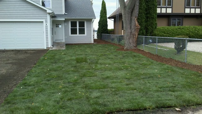 After - Sod Installment & Grading in Mount Pleasant, WI
