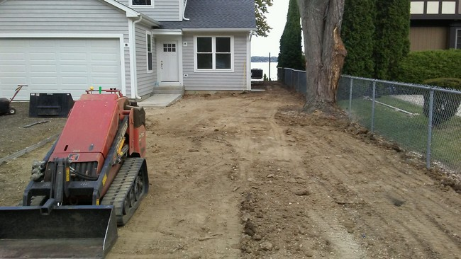 Before - Sod Installment & Grading in Mount Pleasant, WI