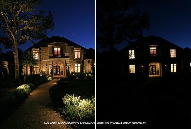 Landscape Lighting in Union Grove, WI